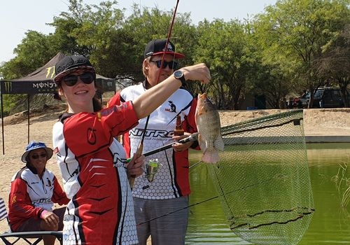 An outdoor experience for family, friends and spectators. Freshwater fishing competitions at the tilapia pond of Goanikontes Oasis are very popular.