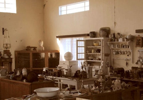 The museum in Gobabis displays theliving styles of yesteryear. Photo by: Johann Groenewald