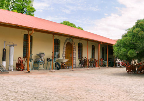 This private museum is housed in the old German fortress in Grootfontein. Photo: LCFN