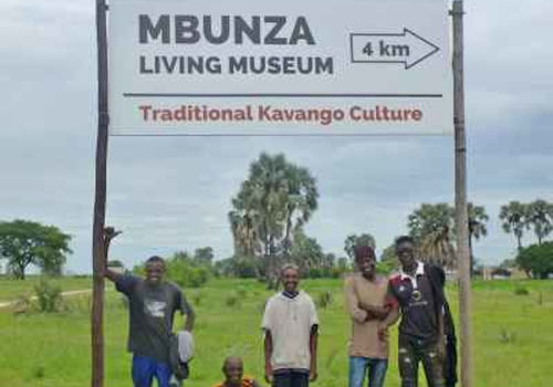 Large signboards indicate where living museums can be found. Photo: LCFN