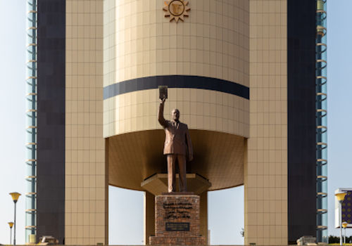 The Independence Memorial Museum in Windhoek is dedicated to Namibia's national liberation struggle. Photoby: Wikipedia, Diego Delso